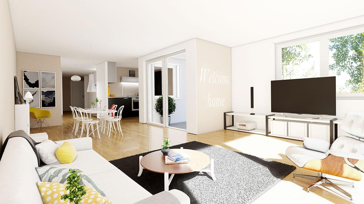 4,5-Zimmer-Wohnung - Objekt 320-12