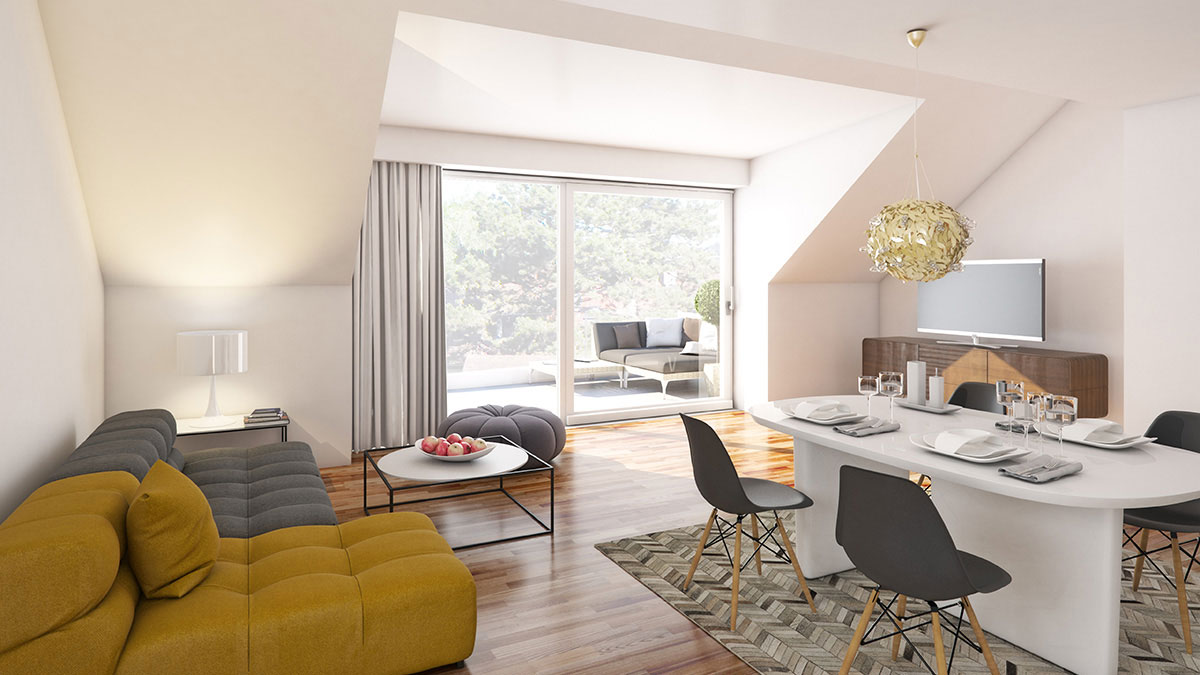 4-Zimmer-Wohnung - Objekt 322-7