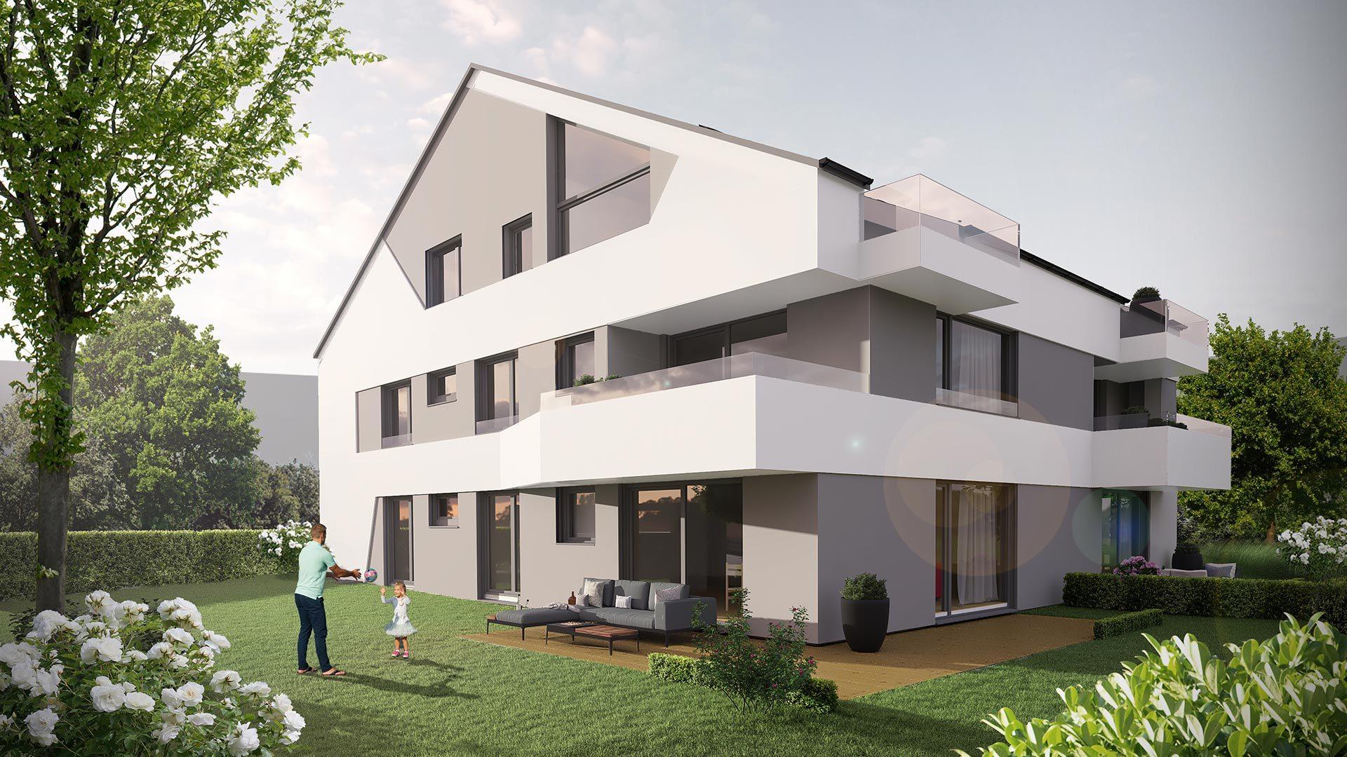 4-Zimmer-Wohnung - Objekt 328-1