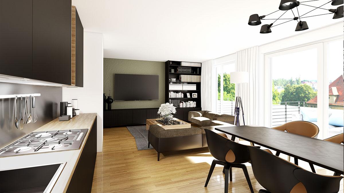 3,5-Zimmer-Wohnung - Objekt 320-6