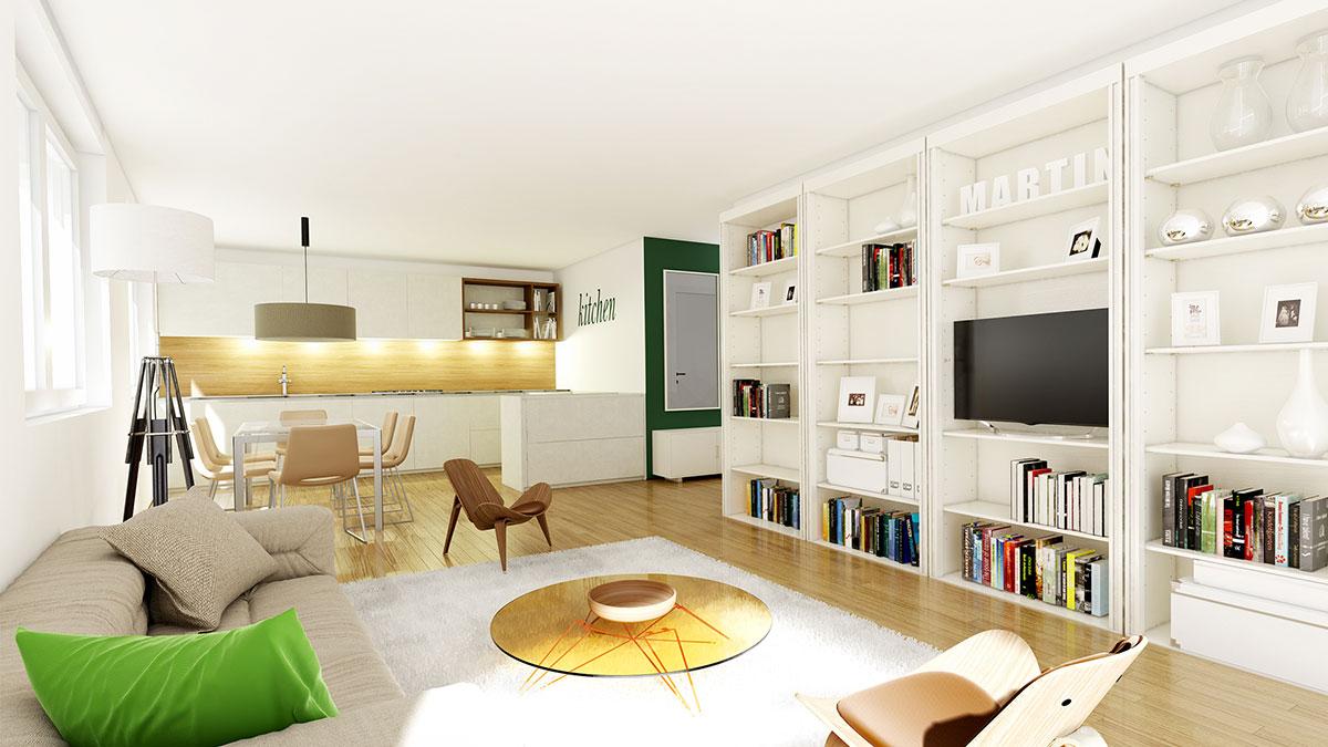 3,5-Zimmer-Wohnung - Objekt 320-13