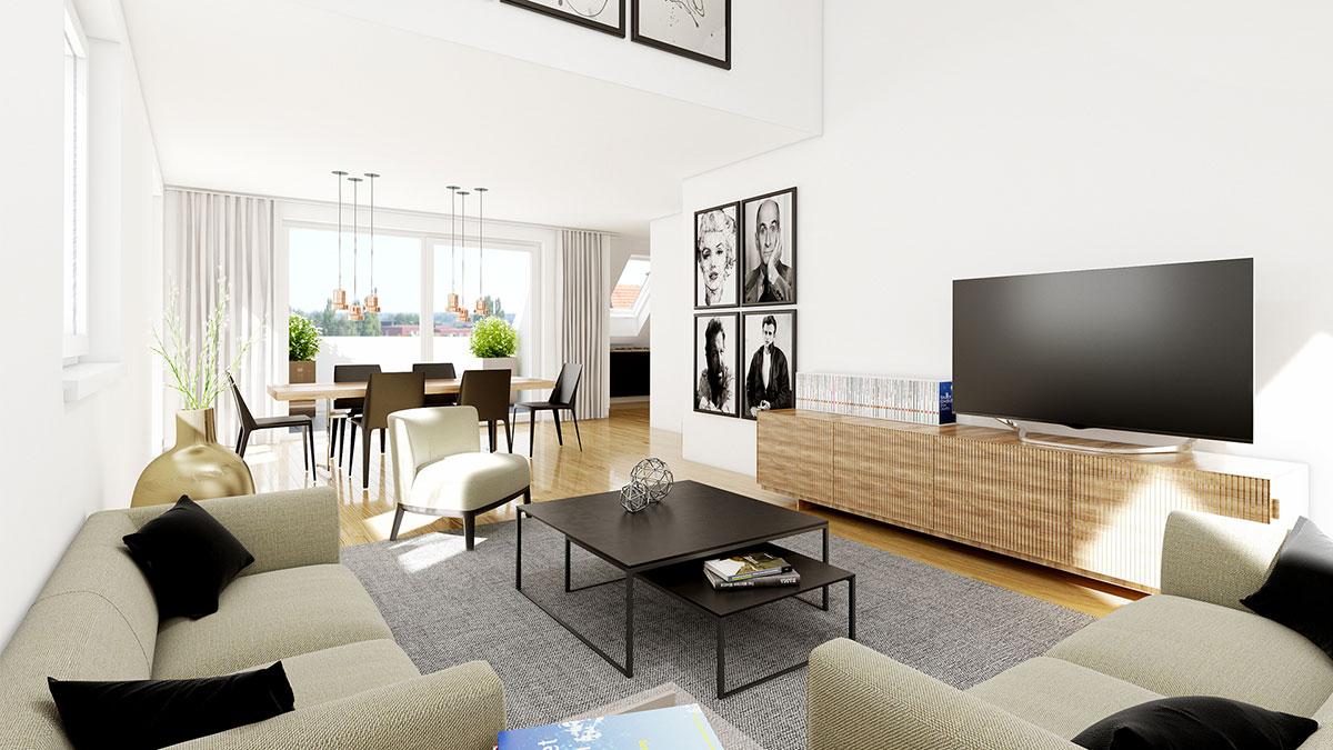 4,5-Zimmer-Wohnung - Objekt 320-7