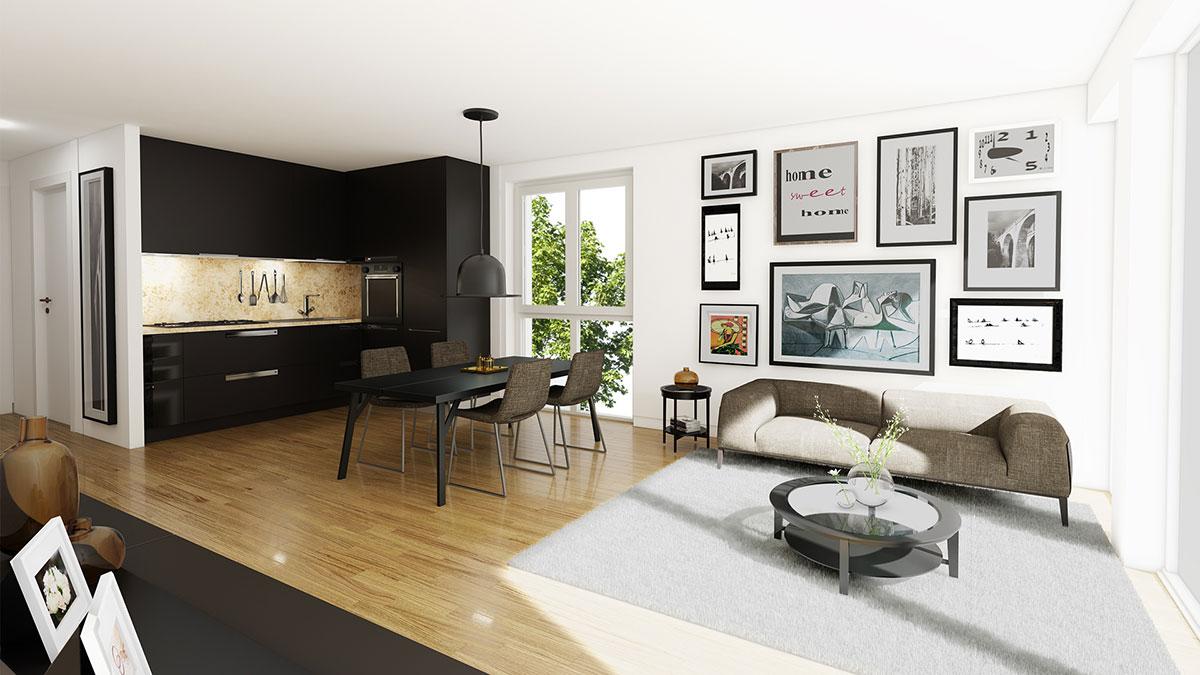 4,5-Zimmer-Wohnung - Objekt 320-4
