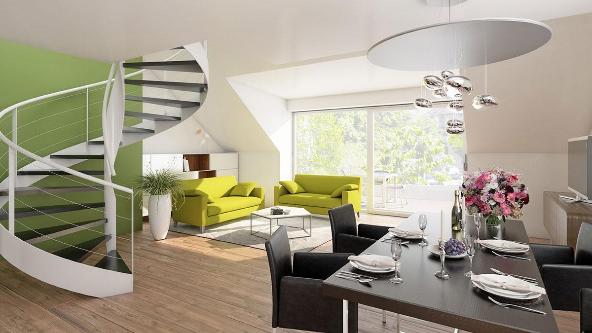 3-Zimmer-Wohnung - Objekt 322-8