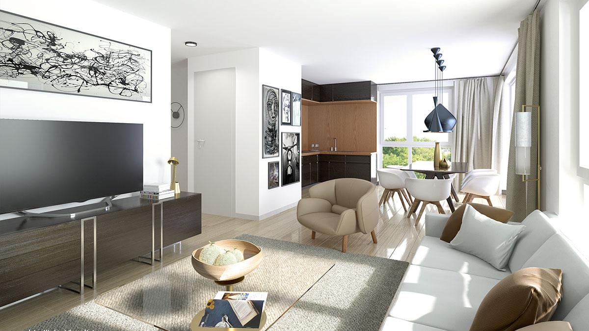 3,5-Zimmer-Wohnung - Objekt 317-1