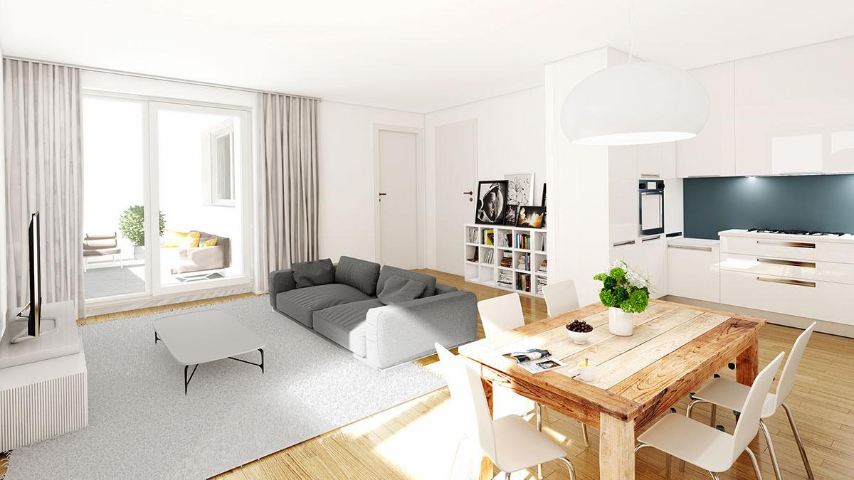 4,5-Zimmer-Wohnung - Objekt 320-14